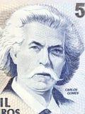 Carlos Gomes portrait Royalty Free Stock Image