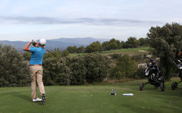 Carlos Gonzales, Masters 13, Pont Royal, 2013 Royalty Free Stock Photography