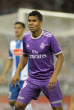 Carlos Henrique Casemiro of Real Madrid Stock Images