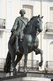 Carlos III Arkivfoto