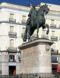 Carlos III King of Spain stock image