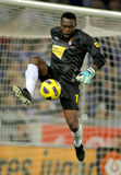 Carlos Kameni of Espanyol Royalty Free Stock Image