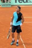 Carlos Moya em Roland Garros Imagem de Stock Royalty Free