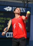 Carlos Moya, Tennis Player from Spain, Serve Stock Photo