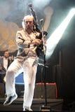 Carlos Nuñez, famous player of the gaita, Festival folk rock Royalty Free Stock Photo