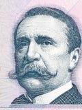 Carlos Pellegrini portrait Stock Image