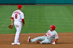 Carlos Ruiz Philadelphia Phillies Stock Photo