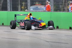 Carlos Sainz at Formula BMW Pacific race Stock Photography
