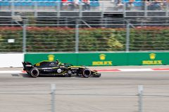 Carlos Sainz of Renault Sport Formula One Team. Formula One. Sochi Russia. Sochi, Russia - September 30, 2018: Carlos Sainz of Renault Sport Formula One Team stock image