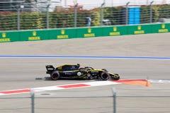 Carlos Sainz of Renault Sport Formula One Team. Formula One. Sochi Russia. Sochi, Russia - September 30, 2018: Carlos Sainz of Renault Sport Formula One Team stock photo