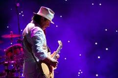 Carlos Santana Royalty-vrije Stock Afbeelding