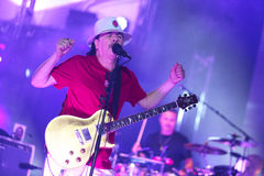 Carlos Santana auf Ausflug - Helle-Ausflug 2016 Lizenzfreies Stockbild