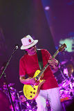 Carlos Santana en el viaje - viaje 2016 de la luminosidad Fotografía de archivo libre de regalías