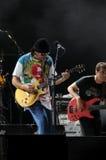 Carlos santana and his band Royalty Free Stock Photos