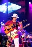 Carlos Santana na excursão - excursão 2016 da luminosidade Imagem de Stock
