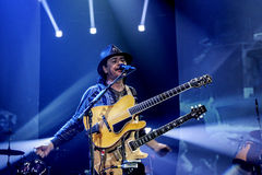 Carlos Santana performs at Java Jazz Festival. 2011 on March 5, 2011 in Jakarta, Indonesia Royalty Free Stock Images