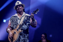Carlos Santana. Performs at Java Jazz Festival 2011 on March 5, 2011 in Jakarta, Indonesia Royalty Free Stock Image