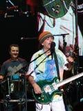 Carlos Santana's Band live concert Stock Images
