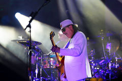 Carlos Santana on Tour - Luminosity Tour 2016 Stock Image