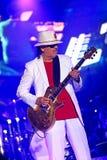 Carlos Santana on Tour - Luminosity Tour 2016. Carlos Santana Live show in Gondomar, Portugal - July 26, 2016 stock photo