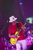 Carlos Santana on Tour - Luminosity Tour 2016. Carlos Santana Live show in Gondomar, Portugal - July 26, 2016 royalty free stock photography