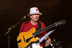 Carlos Santana on Tour - Luminosity Tour 2016 Royalty Free Stock Image