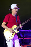 Carlos Santana on Tour - Luminosity Tour 2016. Carlos Santana on Live show in Gondomar, Portugal - July 26, 2016 Royalty Free Stock Images