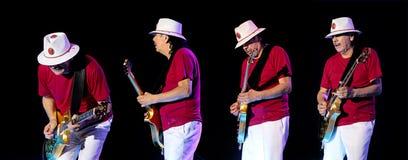 Carlos Santana turnerar på - ljusstyrka turnerar 2016 Royaltyfri Foto