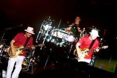 Carlos Santana zespół na wycieczce turysycznej - Luminosity wycieczka turysyczna 2016 obrazy stock