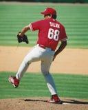 Carlos Silva, Philadelphia Phillies Fotografia de Stock