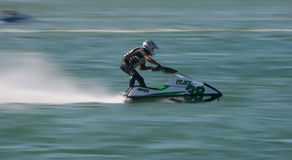 Carlos Truta in Gran Prix of Jet Ski 2012 Stock Photos