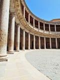 Carlos V palace. The Alhambra, Granada (Spain) Stock Photo
