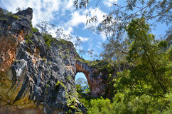 Carlotta Arch Jenolan Caves Blue Mountains New South Wales Austr Stock Photography