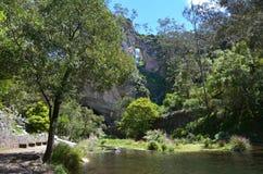 Carlotta Arch Jenolan Caves Blue Mountains New South Wales Austr Stock Photo