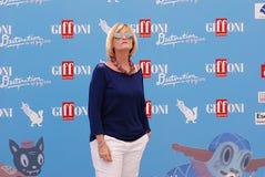 Carlotta Bolognini al Giffoni Ekranowy festiwal 2016 Fotografia Stock