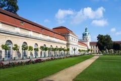 Carlottenburg Palace, Berlin, Germany stock photos
