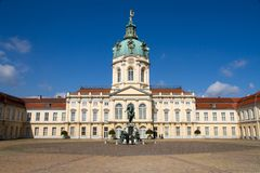 Carlottenburg Palace, Berlin, Germany Royalty Free Stock Photo