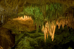 carlsbad εθνικό πάρκο σπηλαίων στοκ φωτογραφίες