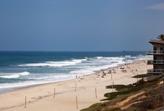San Diego Beach scene Royalty Free Stock Photography
