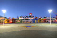 CARLSBAD, CA, FEB 5: Legoland in sunset, February 5, 2014, is a Stock Image