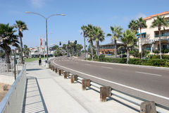 Carlsbad CA, Ozeanfrontseitenwohnungen. lizenzfreies stockfoto