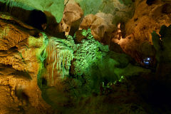 Carlsbad Cavern. National Park in New Mexico royalty free stock photography