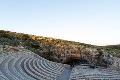 Carlsbad Cavern amphitheater Stock Image