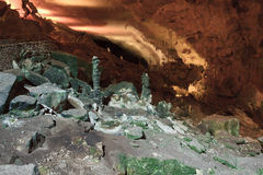 carlsbad caverns Royaltyfria Foton