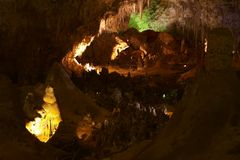 Carlsbad Caverns Stock Photography