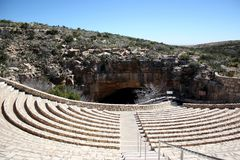 Carlsbad Caverns natural entrance Stock Photography