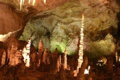 Carlsbad-Höhle-Felsen-Anordnungen Stockbilder