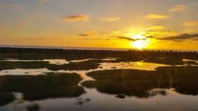 Carlsbad sunset Stock Photo