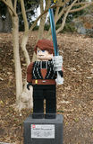 CARLSBAD, US, FEB 6: Star Wars Anakin Skywalker Minifigure made Stock Photos