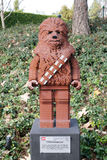 CARLSBAD, US, FEB 6: Star Wars Chewbacca Minifigure made with le Stock Images
